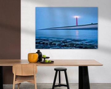 Leuchtturm Long Jaap Den Helder von VanEis Fotografie
