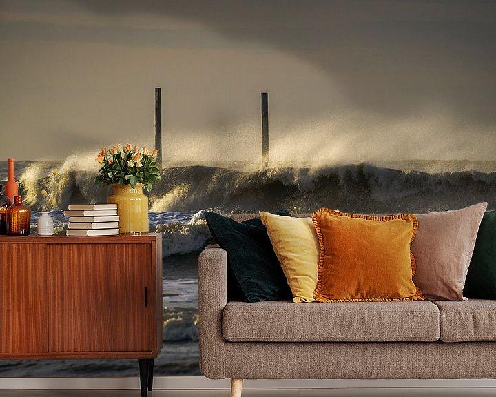 Beispiel fototapete: Brandungswellen von Annette Sturm