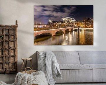 Magere brug, Amsterdam sur Tom Roeleveld