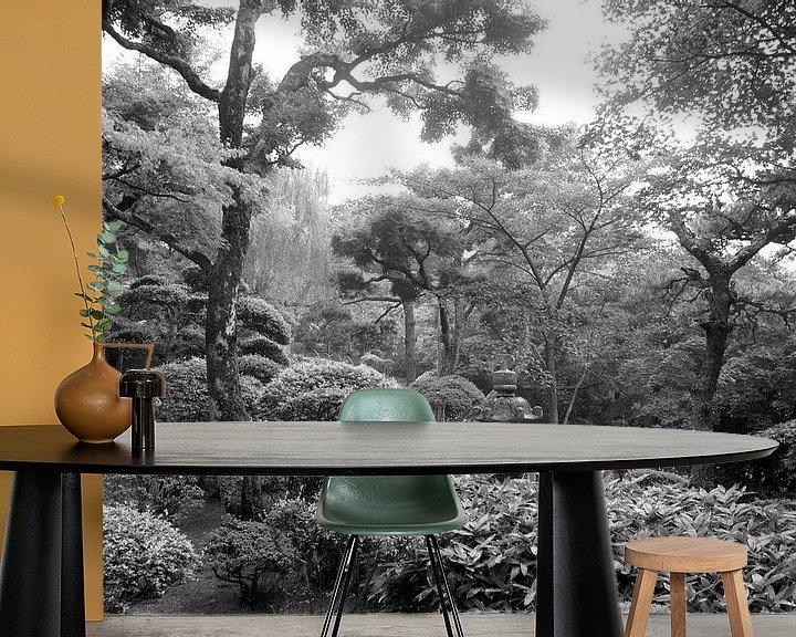Beispiel fototapete: Japanischer Zen Garten von Menno Boermans