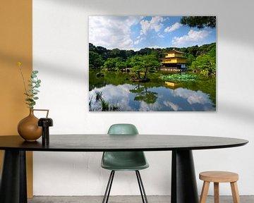Goldener Pavillon Kyoto Japan von Menno Boermans