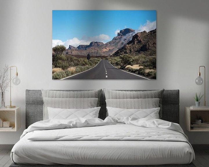 Beispiel: weg naar de el teide vulkaan op tenerife von ChrisWillemsen