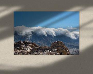 wolken over de bergen sur ChrisWillemsen