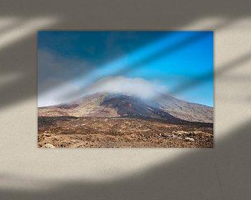 de vulkaan el teide op tenerife sur Compuinfoto .