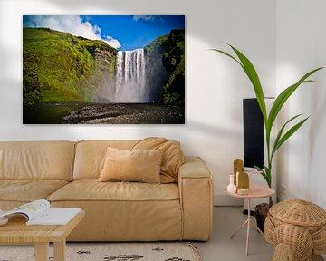 Skógafoss in IJsland von Jeffrey Dolkens