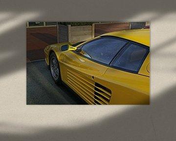Ferrari Testarossa van Daniel  Madrawski