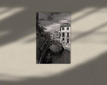De waterwegen van Venetie, Italie van Giovanni della Primavera