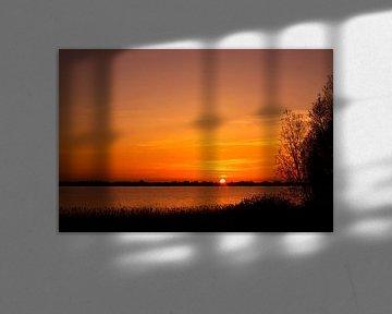 Zonsondergang van Bert Meijerink