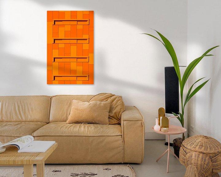 Sfeerimpressie: Project Orange van Sander van der Werf