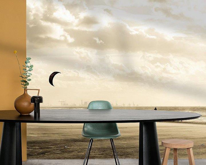 Sfeerimpressie behang: Summer Melancholy van Cho Tang