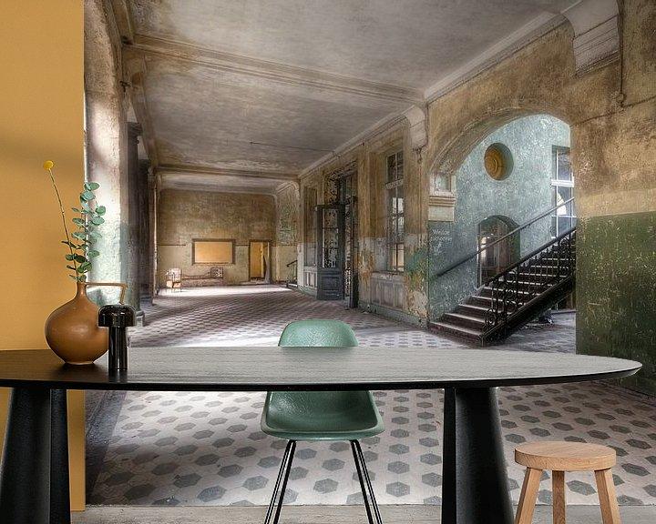 Sfeerimpressie behang: Beelitz - Schoonheid van verval van Roman Robroek