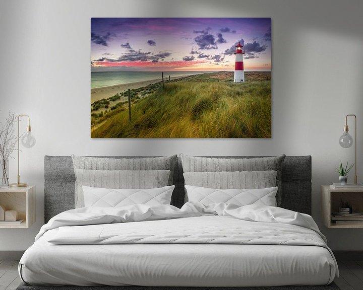 Sfeerimpressie: Lighthouse Lijst West (elleboog / Sylt) van Dirk Wiemer