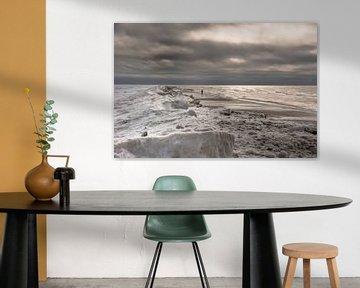 Winter am Meer van Annette Sturm