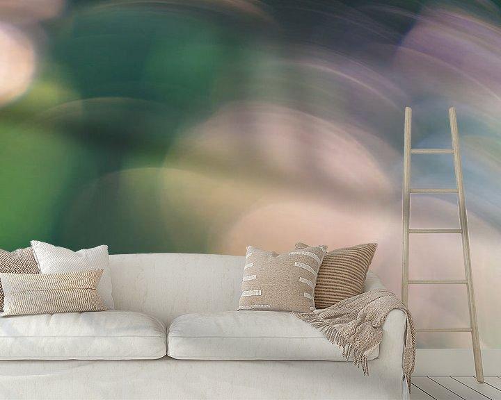 Sfeerimpressie behang: Boslucht van Robert Wiggers