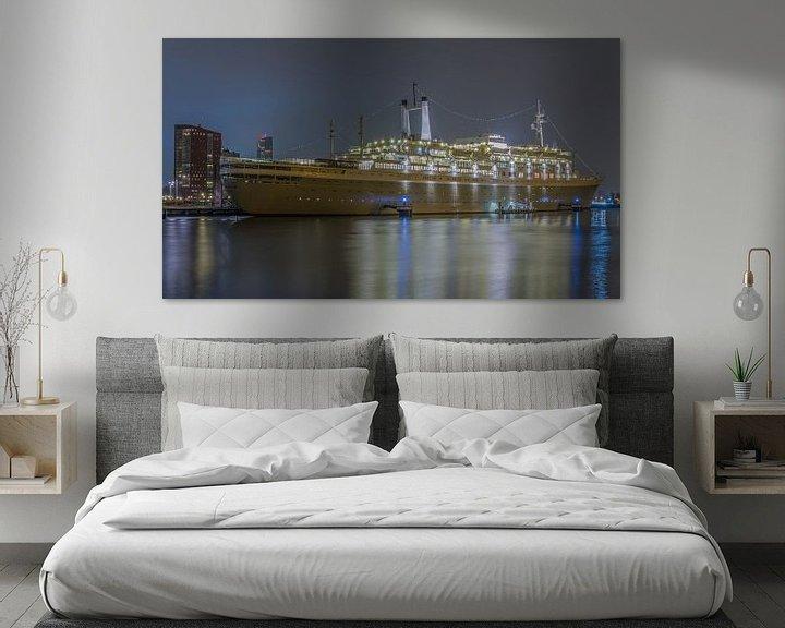 Sfeerimpressie: Het ss Rotterdam in Rotterdam van MS Fotografie | Marc van der Stelt