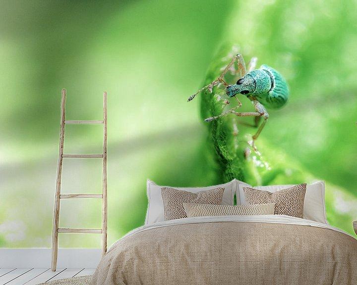 Sfeerimpressie behang: Weevil van Cho Tang