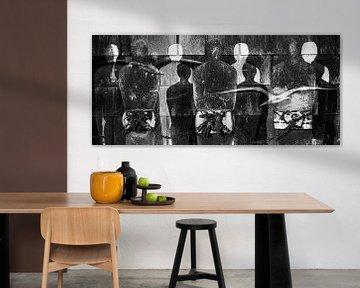 gevangen  vrijheid (zwart-wit) van Giovanni della Primavera