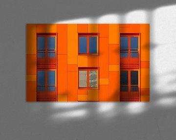 Afwijking in Oranje von Sander van der Werf