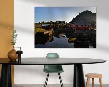 Avondzon op de Lofoten