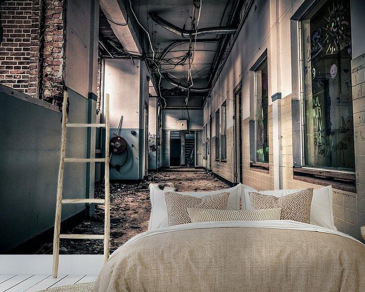 Beispiel fototapete: Hallway Monitor von Cho Tang