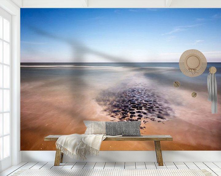 Sfeerimpressie behang: Vlieland van Andre Struik