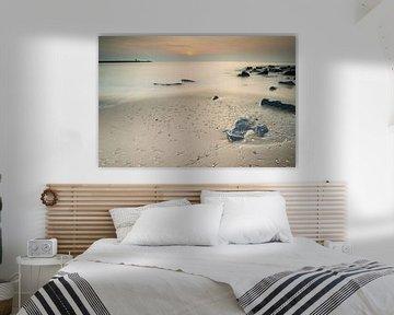 Het strand van Scheveningen - 1 van Damien Franscoise