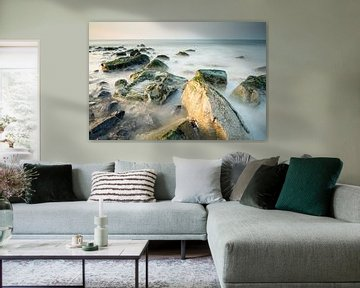 Het strand van Scheveningen - 3 van Damien Franscoise