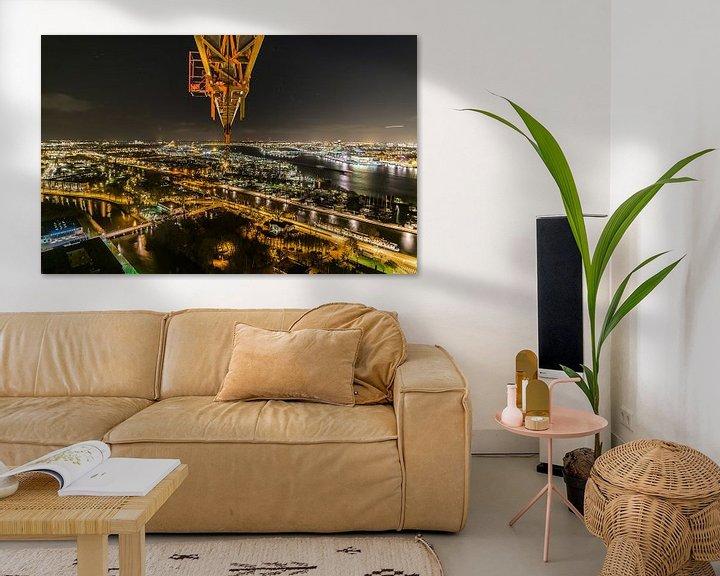 Beispiel: A'DAM toren - Panoramaview over Amsterdam. (8) von Renzo Gerritsen