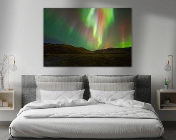 Northern Lights (aurores boréales) en Islande