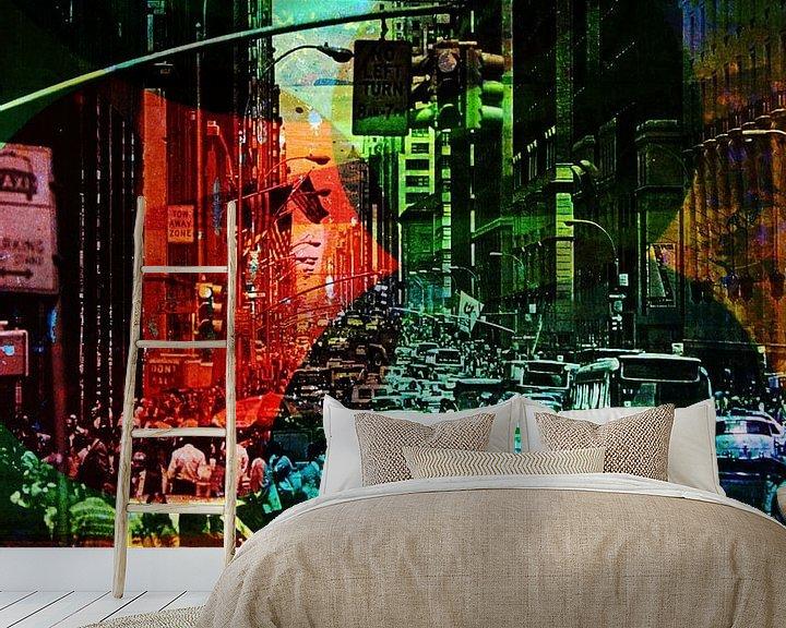 Sfeerimpressie behang: CHAOS van db Waterman