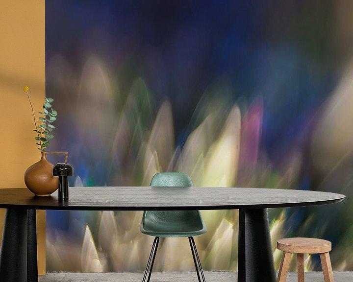 Sfeerimpressie behang: Kleur Explosie #2 van Robert Wiggers