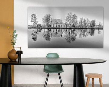 Het Veerhuis in Rotterdam Overschie z/w van MS Fotografie | Marc van der Stelt