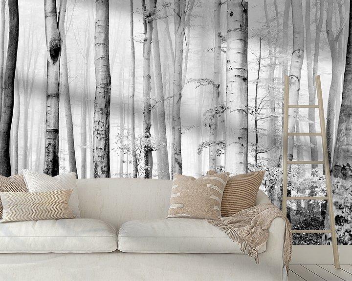 Sfeerimpressie behang: cloud forest van Norbert Sülzner