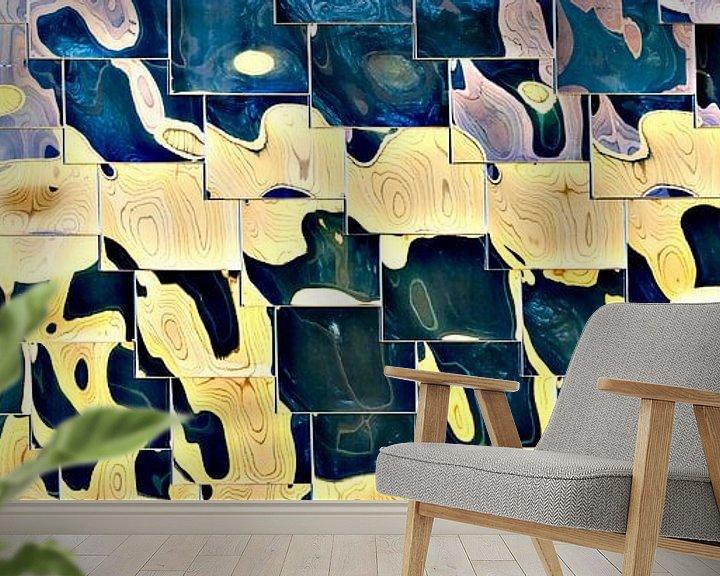 Sfeerimpressie behang: BAD van Maerten Prins