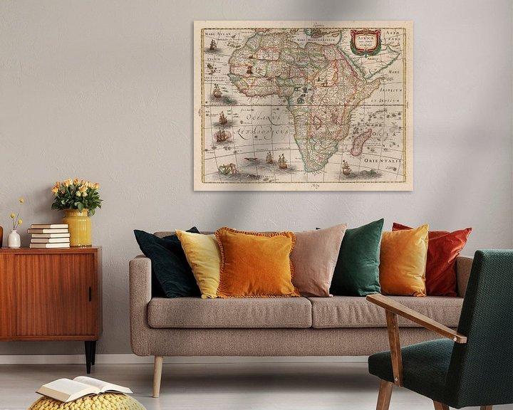 Beispiel: Karte von Afrika (Africae nova tabula)