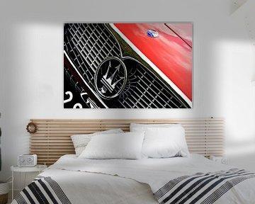 Maserati Detail von Jurien Minke
