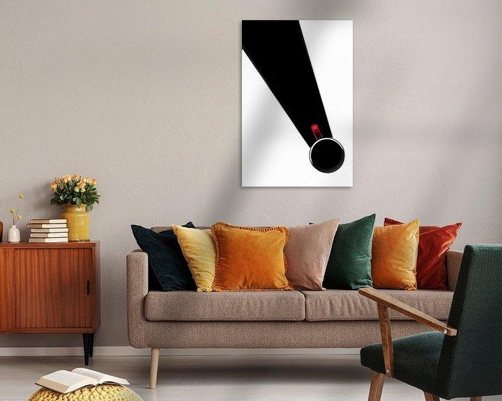 Impression: serie Simply Red, titel Stropdas (rode koffiekop) sur Kristian Hoekman