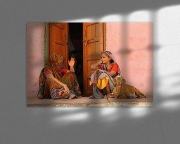 Dagelijks leven in India van Gonnie van de Schans