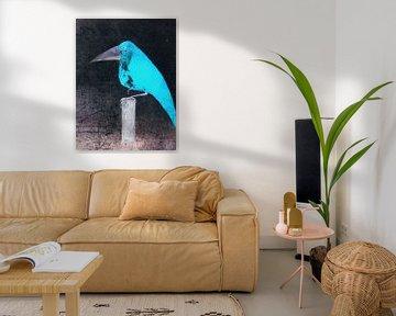 Der blaue Vogel von Christine Nöhmeier
