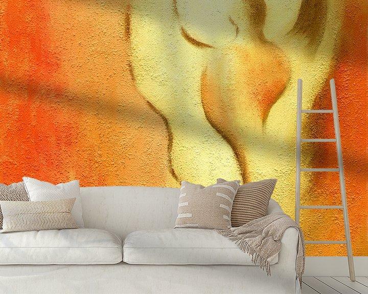 Sfeerimpressie behang: Engelen van creativiteit en sensualiteit - Angel Art van Marita Zacharias