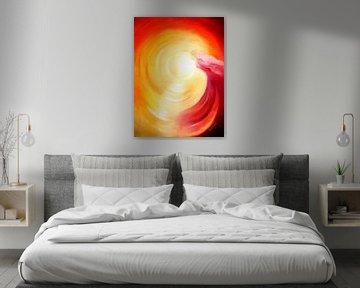 Soul Journey en Lumière - ange Art sur Marita Zacharias