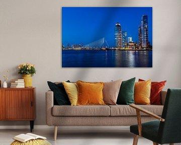 Rotterdam - bleu heure