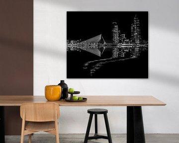 Rotterdam vue de nuit