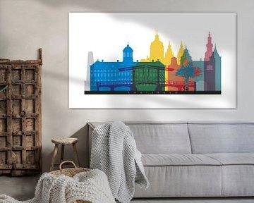 Amsterdam auf einen Blick von Harry Hadders