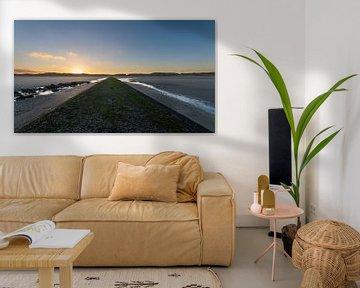 Winterzon aan zee van B-Pure Photography