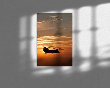 Sun Set Chinook von Kristian Hoekman