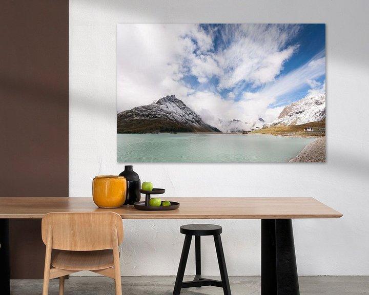 Sfeerimpressie: Silvretta hochalpenstrasse in Oostenrijk - 1  van Damien Franscoise