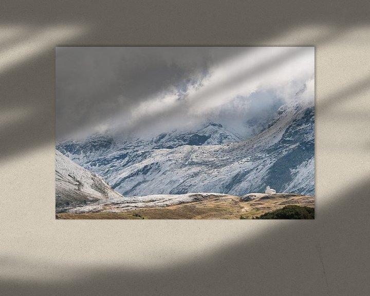 Sfeerimpressie: Silvretta hochalpenstrasse in Oostenrijk - 2 van Damien Franscoise