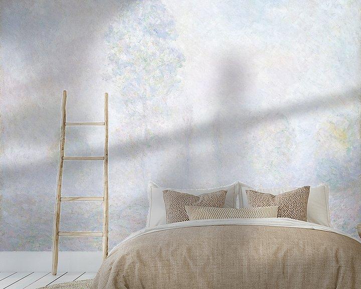 Beispiel fototapete: Morgennebel, Claude Monet