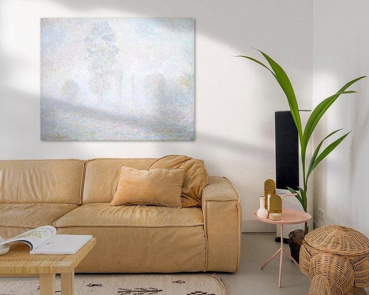Beispiel: Morgennebel, Claude Monet